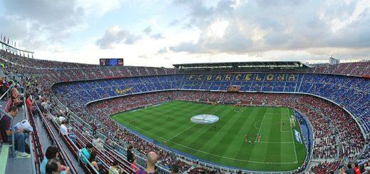 Le stade du FC barcelone-nou camp