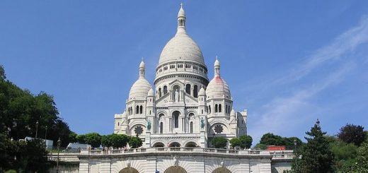 un des hauts lieux du tourisme à Paris : le Sacré Coeur