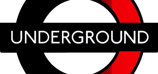 le sigle de métro de Londres appél aussi Underground