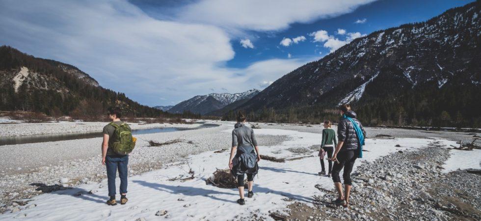 Un voyage en groupre à la neige