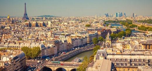 un vol pas cher pour avoir une vue imprenable sur la capitalle française !
